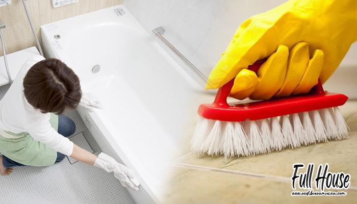 การทำความสะอาดห้องน้ำให้กลับมาเหมือนใหม่